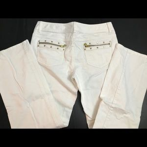 Ladies Michael Kors white denim jeans